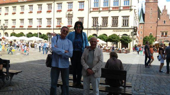 Felipe, Marina y Alejandro Wroclaw 2016