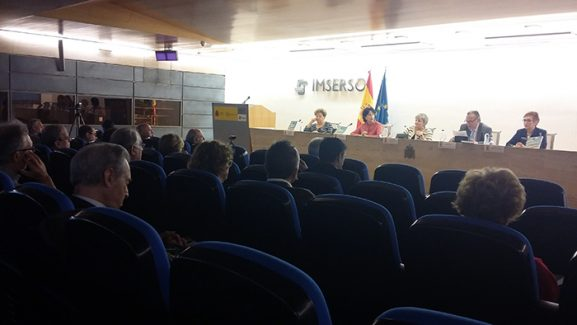 Salón de Actos firma del Convenio.