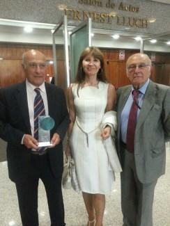 Alejandro Julia y Augosto miembros de la Junta Directiva de CAUMAS