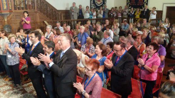 Público durante el recital del Coro.