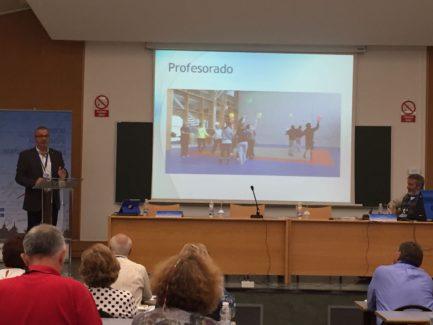 José M. Presidente del Campus de Pontevedra
