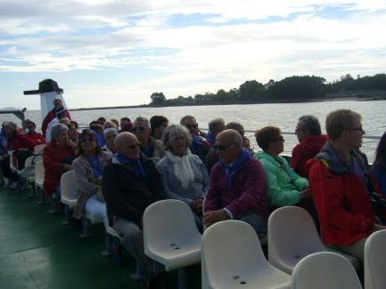 XIII Jornadas en el barco a las I. Cies