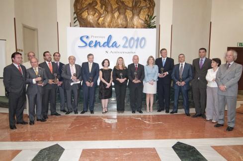 PREMIOS SENDA A CAUMAS 2010