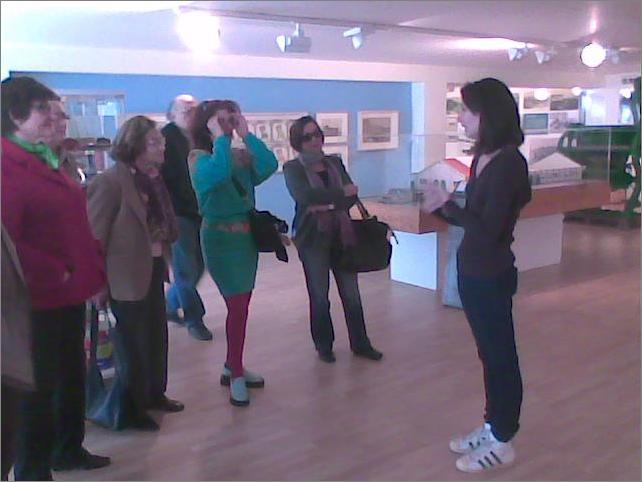 Visita al museo de ANFACO