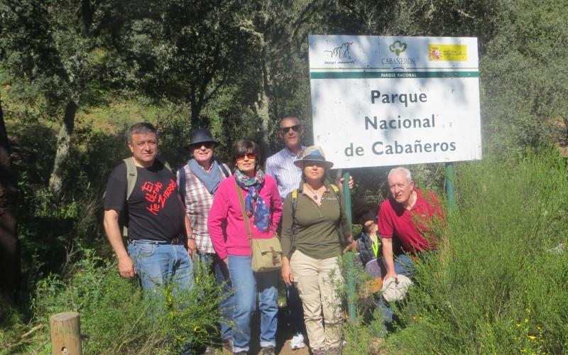 Adentrándonos el el Parque Nacional de Cabañeros