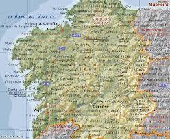 Geografía física de Galicia