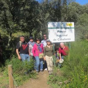 Adentrándonos en el parque Nacional de Cabeñeros