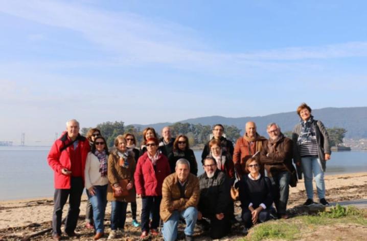 Salida de Formación. Cesantes-Pontevedra-Salinas de Vilaboa