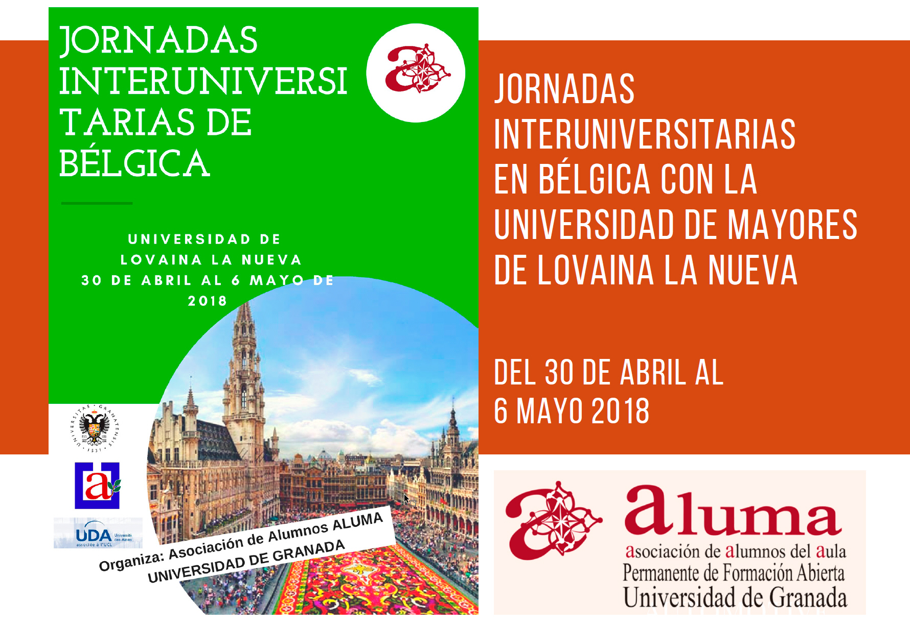 Jornadas Interuniversitarias en Bélgica con la Universidad de ...
