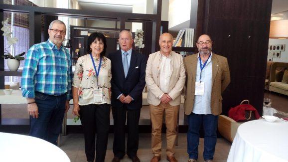 Chema, Marina, Luis Espada, Michel