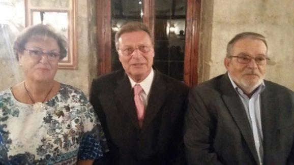Los tres presidentes de CAUMAS
