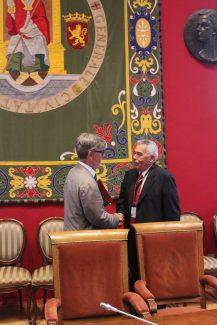 Alcalde de Zaragoza y Fran Presidente AMUEZ