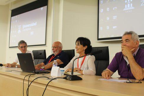José Ramón, Manolo, Marina y Fran