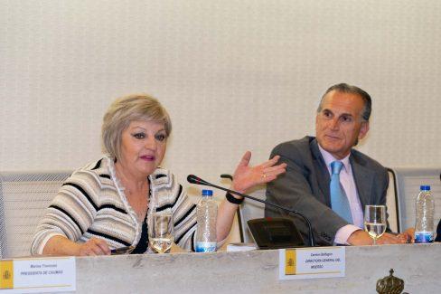 Carmen Balfagón y Enrique Pozón hijo