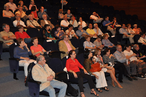 Público asistente a la presentación de Ágora 2015