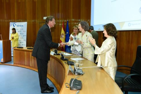 Felipe Martín Recibe de la Reina Sofía el Premio Aules-Senda.