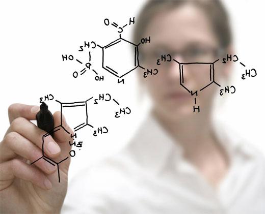 La química en la cosmética