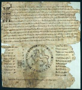 Visita al archivo del reino de Galicia