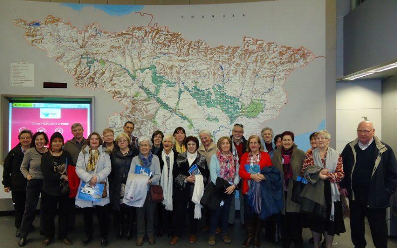 Visita a la Confederación Hidrográfica del Ebro