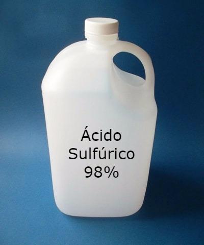 El ácido Sulfúrico