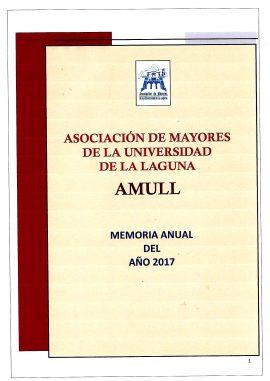 Memoria Anual AMULL 2017