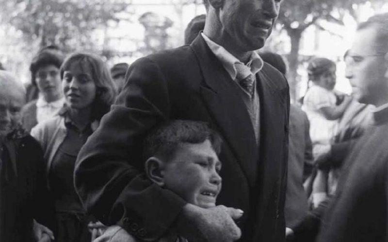 Emigración gallega. Años 50.