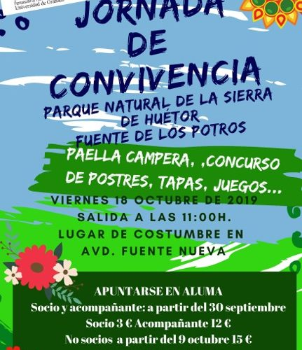 Crónica de la Jornada de Convivencia celebrada por ALUMA en el Parque Natural de la Sierra de Huétor