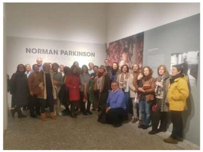 Exposición fotográfica de Norman Parkinson